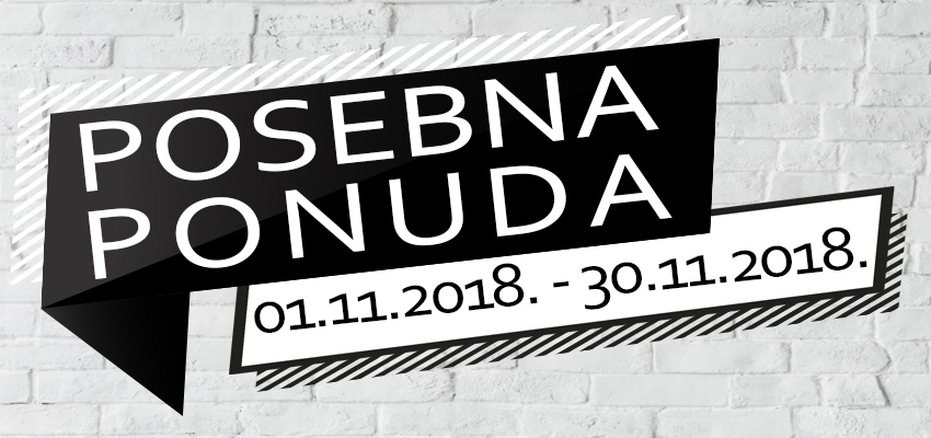 Posebna ponuda - Novembar 2018