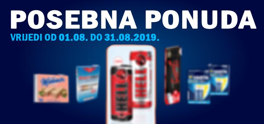 Posebna ponuda - August 2019