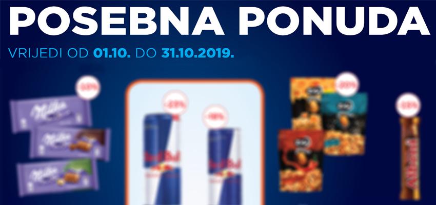 Posebna ponuda - Oktobar 2019