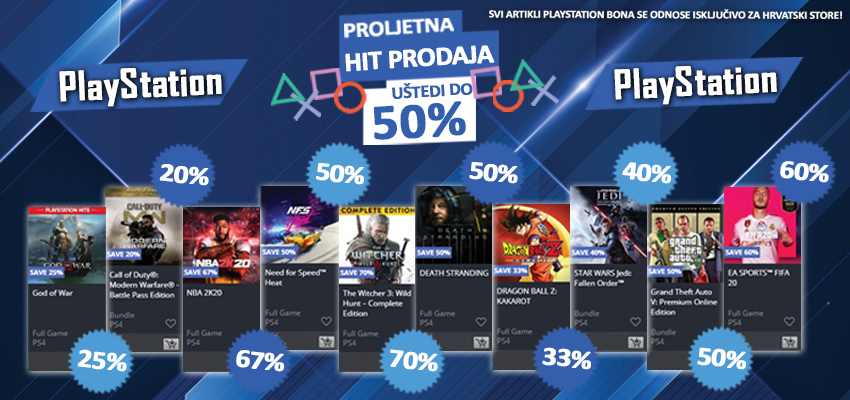 PlayStation Spring Sale