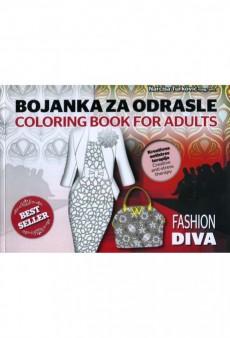 Bojanka za odrasle: Fashion Diva