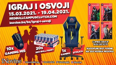 Nagradna Igra - Igraj i Osvoji - Red Bull Campus Clutch 2021!