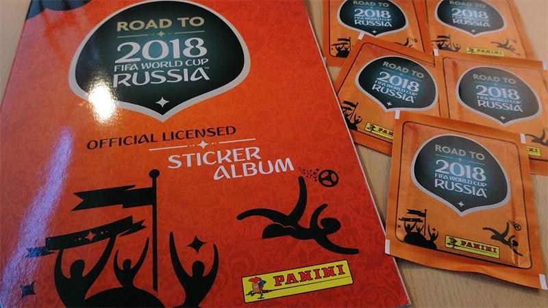 FIFA Road to 2018 World cup Russia album i sličice