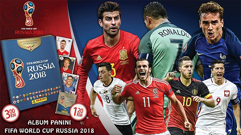 Official Panini Fifa World Cup album!