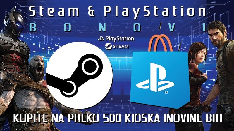 Steam Bon & PlayStation Bon