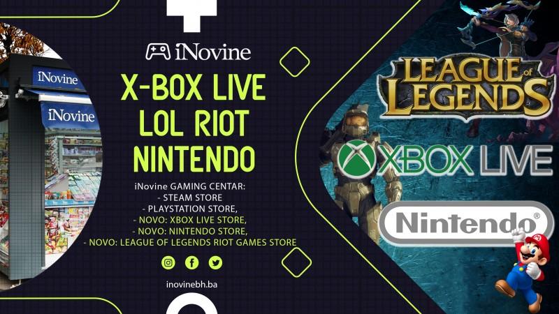 Novi gaming bonovi u prodaji!