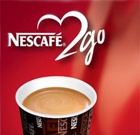 Nescafe 2go!